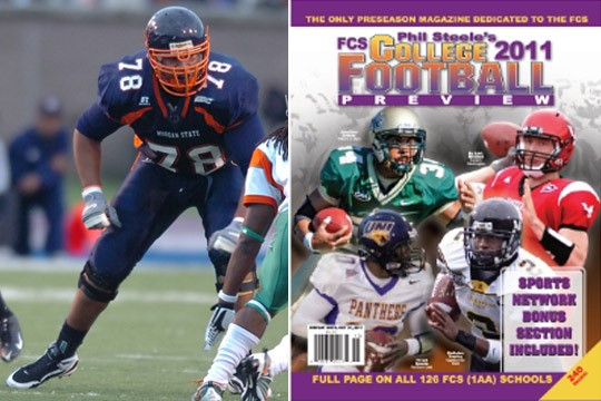 SIX BEARS HONORED IN PHIL STEELE'S FCS COLLEGE FOOTBALL MAGAZINE