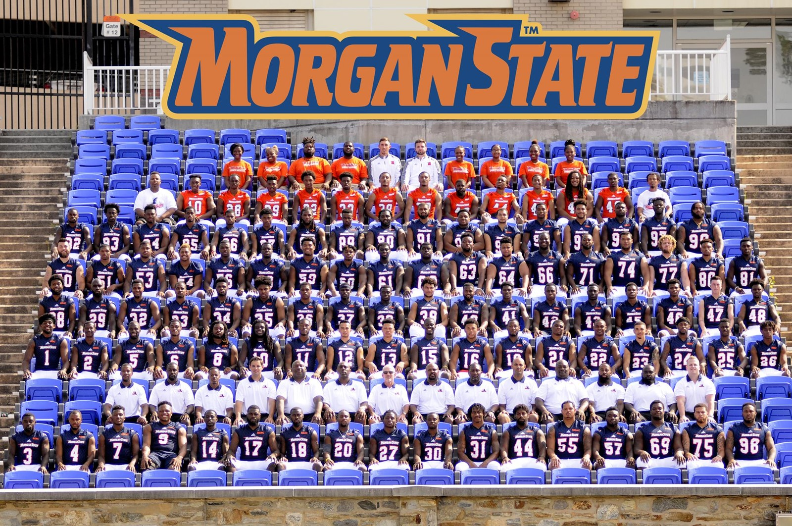 2017 0 Roster Morgan State University Athletics