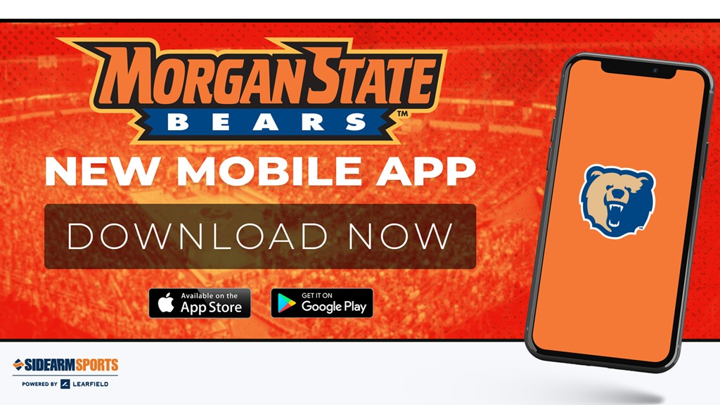 Morgan State Athletics Launches New Mobile App